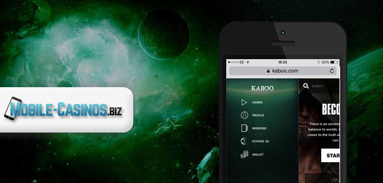 Kaboo New Mobile Casino